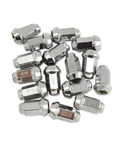 CARLISLE CHROME LUG NUTS 16PK