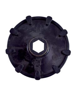 SPROCKET HEX.SHAFT POL.        (04-108-36)