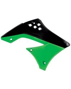 ACERBIS BLACK/GREEN RADIATOR SHROUDS (2141711043)