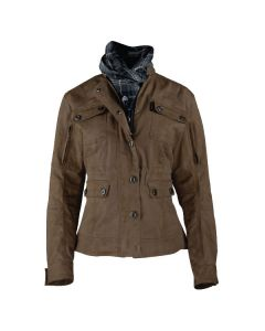 JOE ROCKET WOMEN'S LUNA WAXED CANVAS JACKET