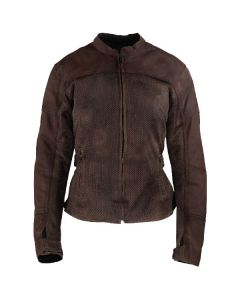 JOE ROCKET WOMEN'S SOLEIL WAXED CANVAS/MESH JACKET