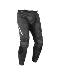 FS LEATHER PANT BLK MD
