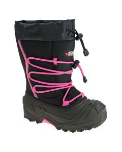 BAFFIN SNOGOOOSE YOUTH BOOT SIZE YOUTH 12 BLACK/PINK