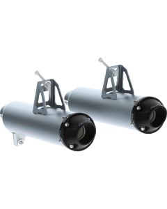 MBRP DUAL SLIPON PERF MUFFLER  (AT-9207PT)