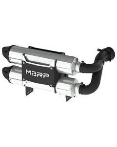 MBRP DUAL SLIPON PERF MUFFLER  (AT-9208PT)