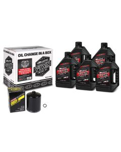 V-TWIN OIL CHNG KT SYNTH/BLK   (90-129015PB)