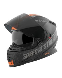 CRUISE MSSLE SS1600 M.BK/OR 2X