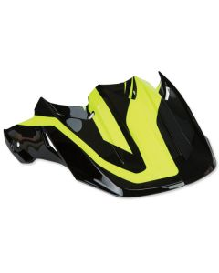 FLY F2 PURE VISOR HIVIS/BLK