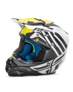 FLY F2 ZOOM MT WH/BK/HIVIS XS