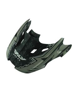 FLY KINETIC VISOR MY/BLK/GRY