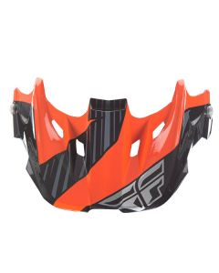 KINETIC COLD WTHER OR/BK VISOR