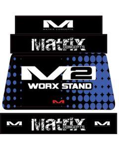 MATRIX M2 STAND GRAPHICS BLUE