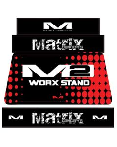MATRIX M2 STAND GRAPHICS RED