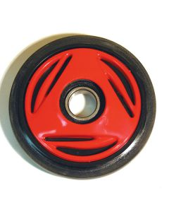 IDLER PLASTIC COMPLETE S/D RED