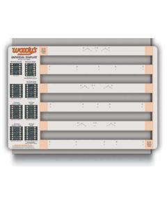STUD TEMPLATE CAT 2.52 SINGLE