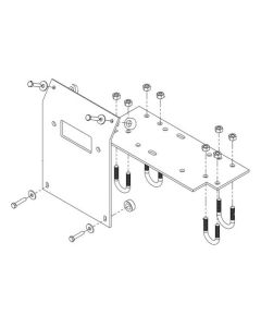 WINCH MOUNT KIT HONDA TRX500(33-61105)
