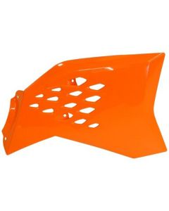 Acerbis Orange Radiator Shrouds