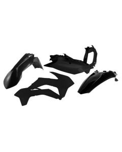 Acerbis Black Plastic Kit