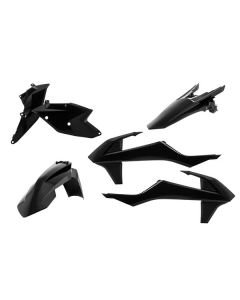 ACERBIS PLASTIC KIT KTM BLACK(38-97130)