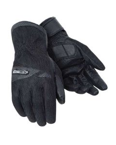 TOURMASTER DRI-MESH GLOVES MENS X-SMALL BLACK