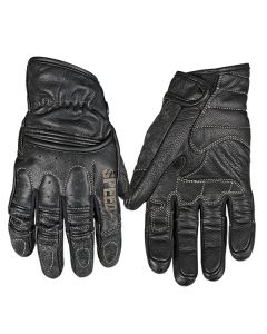 RUST AND REDEMPTION LEATHER GLOVE SIZE SM BLACK