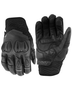RUN WITH THE BULLS LEATHER GLOVES SIZE SM BLACK
