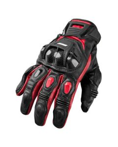 JOE ROCKET BLASTER SR LEATHER GLOVES SIZE SMALL RED