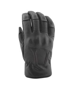 JOE ROCKET GASTOWN LEATHER GLOVES SIZE SMALL BLACK