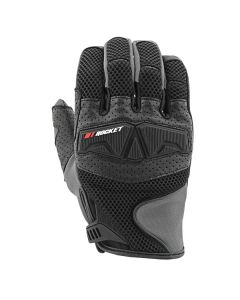 JOE ROCKET TRANS CANADA MESH GLOVES SIZE SMALL BLACK