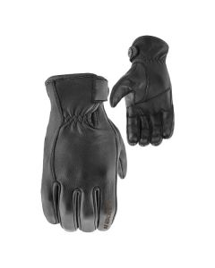 JOE ROCKET 67 LEATHER GLOVE SIZE SMALL BLACK