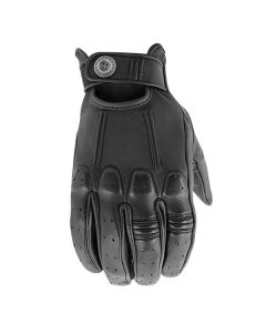 JOE ROCKET POWER GLIDE LEATHER GLOVE SIZE SMALL BLACK