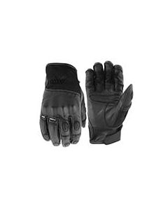 JOE ROCKET REACTOR LEATHER GLOVE SIZE SMALL BLACK