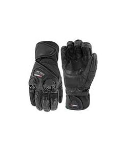 JOE ROCKET HIGHSIDE LEATHER/TEXTILE GLOVE SIZE SMALL BLACK