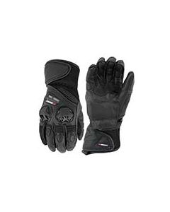 JOE ROCKET HIGHSIDE AIR LEATHER/MESH GLOVE SIZE SMALL BLACK