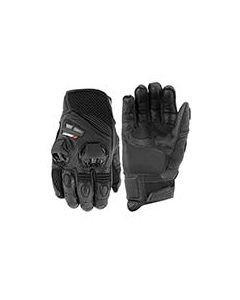 JOE ROCKET HIGHSIDE AIR SHORT GLOVE SIZE SMALL BLACK