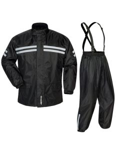 TOURMASTER SHIELD 2 PIECE RAIN SUIT XS BLACK