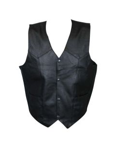 ROCKHARD LEATHER VEST