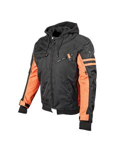 OFF THE CHAIN JACKET SIZE SM ORANGE