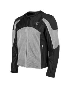 MIDNIGHT EXPRESS MESH JACKET SIZE SM SILVER
