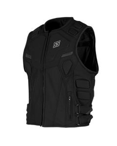 CRITICAL MASS ARMORED VEST SIZE SM BLACK