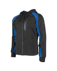 RUN WITH THE BULLS ARAMID REINFORCED/ARMOURED HOODY SIZE SM BLUE
