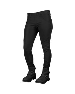 COMIN' IN HOT YOGA-MOTO PANTS SIZE 2R BLACK