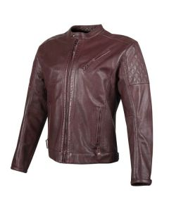JOE ROCKET RICHMOND LEATHER JACKET SIZE 2XL OX BLOOD