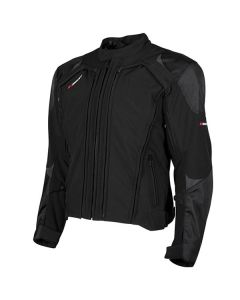 JOE ROCKET TRANS CANADA 2.0 TEXTILE JACKET SIZE SMALL BLACK