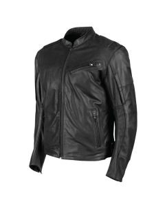 JOE ROCKET POWERGLIDE LEATHER JACKET SIZE SMALL BLACK