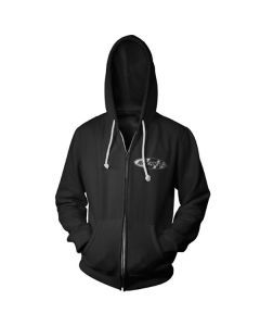 JOE ROCKET ANNIVERSARY ZIP UP HOODY SIZE 2XL BLACK