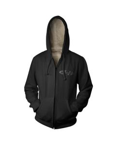 MENS RACING ZIP HOODY MED