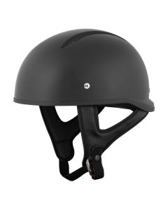 JOE ROCKET RKT 3 HALF HELMET SIZE XS MATTE BLACK SINGLE LENS