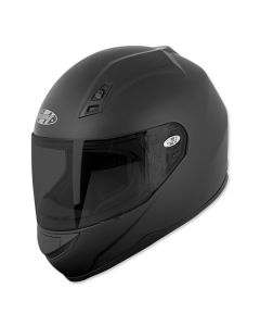 JOE ROCKET SOLID RKT 7 FULL FACE HELMET SIZE XS MATTE BLACK SINGLE LENS