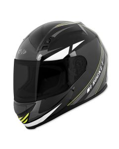 JOE ROCKET REACTOR RKT 7 FULL FACE HELMET SIZE XS GREY/HIGH-VISIBILITY SINGLE LENS